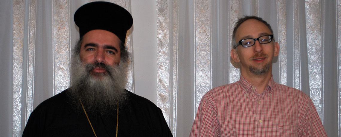 Rabbi Michael Davis Archbishop Theodosius Greek Orthodox Patriarchate